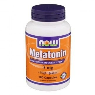Comprar Melatonina 3 mg  - Now Foods - 180 cápsulas