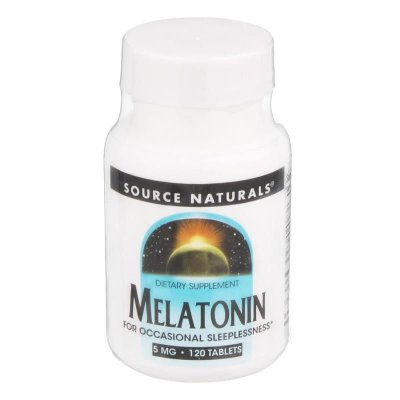 Comprar Melatonina 5 mg - Source Naturals - 120 tablets