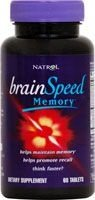 BRAINSPEED MEMORY (Suplemento para a MEMÓRIA) - Natrol - 60 Tablets