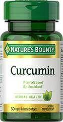 Curcumin - Nature´s Bounty - 30 softgels de liberação rápida