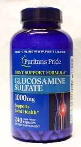 Glucosamina 1000 mg - Puritans Pride - 240 tablets