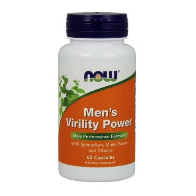Men´s Virility Power - Now Foods - 60 cápsulas