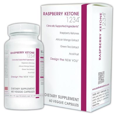 Raspberry Ketone (Cetona de Framboesa) - Creative Bioscience - 60 Cápsulas