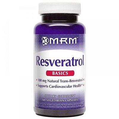 Resveratrol 100 mg - MRM - 60 cápsulas