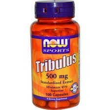 Tribulus Terrestris 500 mg - Now Foods - 100 Cápsulas