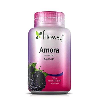 Amora Fitoway 500mg ( Menopausa ) - 60 Cáps