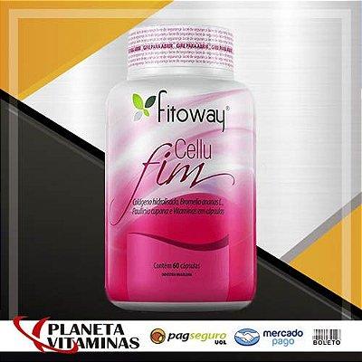 Celufim Fitoway (Fórmula Anti Celulite) - 60 Cáps