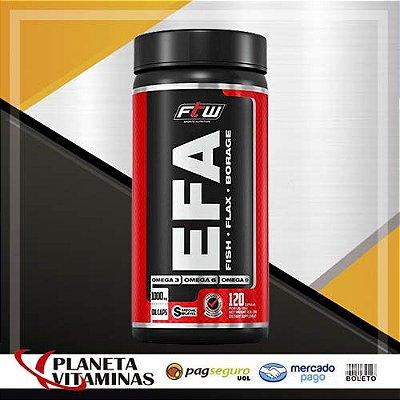 E.F.A. 3-6-9 Fitoway (Borragem + Linhaça + Peixe) - 120 Cá