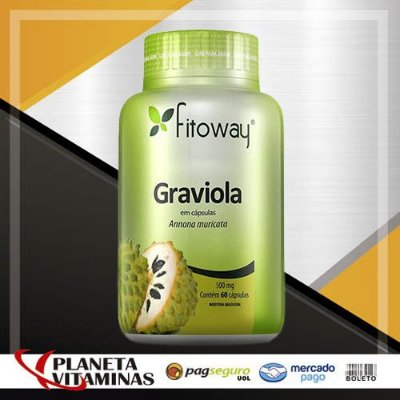 Graviola Fitoway 500mg - 60 Cáps