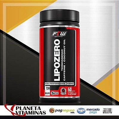 Lipozero Fitoway FTW (Cafeína 110mg + Óleo De Coco) - 60 C
