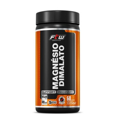 Magnésio Dimalato Fitoway FTW - 60 Cáps