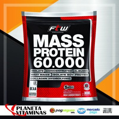 MASS Fitoway FTW (Chocolate) Refil 3kg