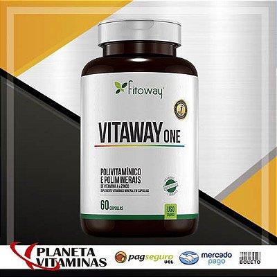 Vitaway One Fitoway Farma 100% IDR - Polivitaminico A Z - 60