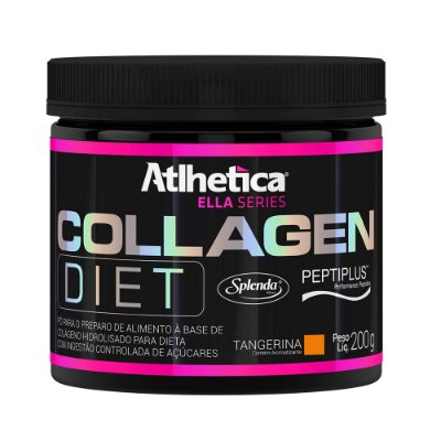 Collagen Diet Ella Series - 200g Tangerina - Atlhetica Nutri