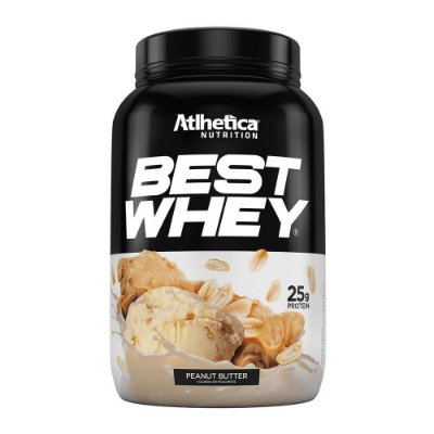 Best Whey - Sabor Peanut Butter (Amendoim) - Atlhetica Nutri
