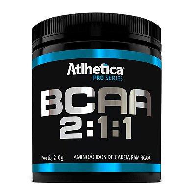 BCAA 2:1:1 Pro Series - Morango C/ Maracujá Atlhetica 210g