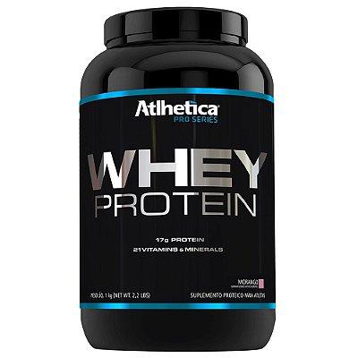 Whey Protein Pro Series 1 Kg- Sabor Morango - Atlhetica Nutr