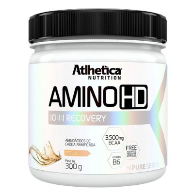 Pure Series Amino HD 10:1:1 300g - Sabor Citrus - Atlhetica