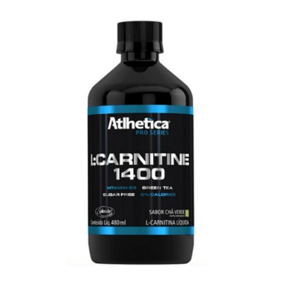 L-Carnitine 1400- Sabor Chá Verde - Atlhetica Nutrition 480