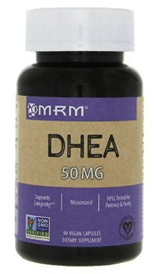 Comprar DHEA 50 mg - MRM - 90 cápsulas