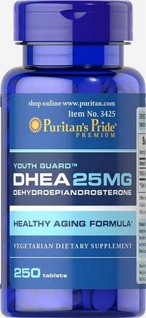 DHEA 25 mg  - Puritan´s Pride - 250 tablets