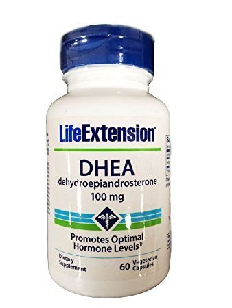 DHEA 100 mg - Life Extension - 60 cápsulas  (Envio Internacional)