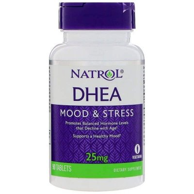 Comprar DHEA 25 mg  - NATROL - 90 comprimidos