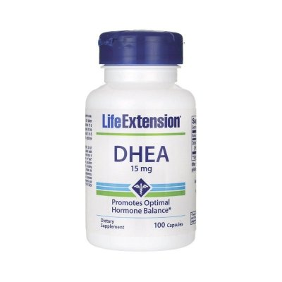 DHEA 15 mg -  Life Extension - 100 cápsulas