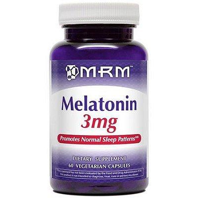 Comprar Melatonina 3 mg - MRM - 60 Cápsulas (hormônio do sono)