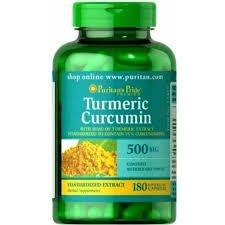 Tumeric Curcumin 500 mg - Puritan´s Pride - 180 cápsulas