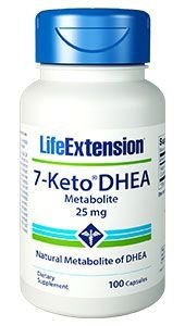 7-Keto DHEA 25 mg - Life Extension - 100 cápsulas