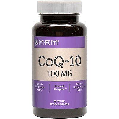 Coenzima Q10 (CoQ10) 100 mg  - MRM - 60 softgels (Envio Internacional)