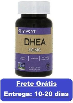 DHEA 50 mg - MRM - 90 cápsulas (Envio Internacional)