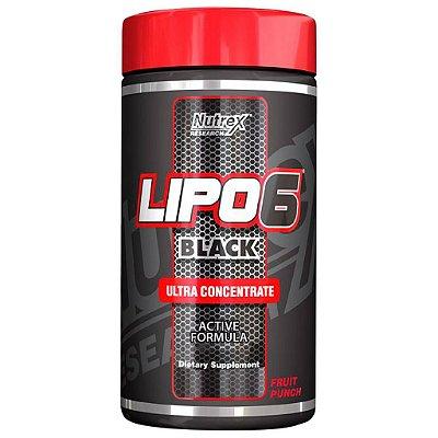 Lipo 6 Black Ultraconcentrado em pó - Nutrex - 125 g - O Original! (Envio Internacional)