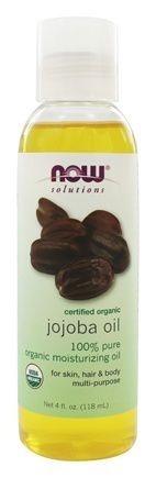 Óleo de Jojoba 100 % Puro (saúde do couro cabeludo e pele) - Now Foods - 120 ml (Envio Internacional)
