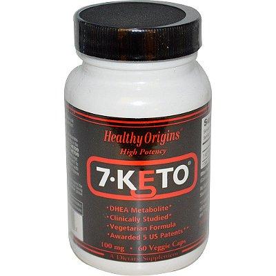 7-Keto DHEA 100 mg - Healthy Origins - 60 cápsulas (Envio Internacional)