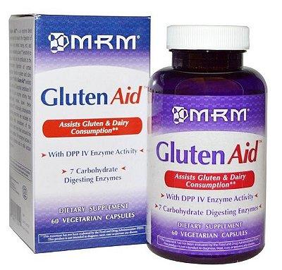 Gluten Aid (auxilia digestão de glúten) - MRM - 60 cápsulas (Envio Internacional)