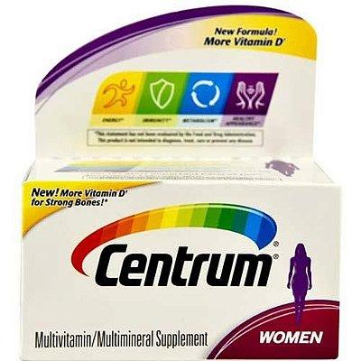 Multivitamínico Centrum WOMEN - 40 tabletes (Envio Internacional)