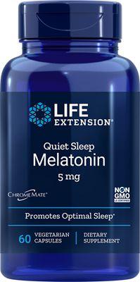 Melatonina 5 mg Natural Sleep - Life Extension - 60 cápsulas vegetarianas (Envio Internacional 10-20 dias -FRETE GRÁTIS)