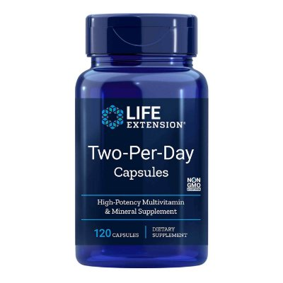 Life Extension Two-Per-Day Capsules - 120 Capsules