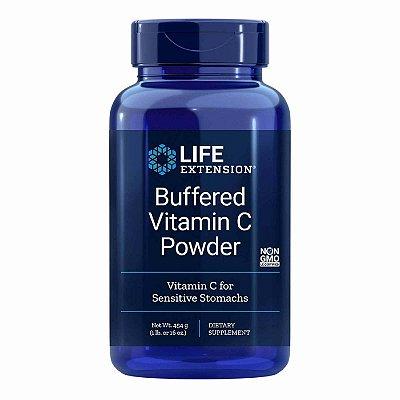 com buffer de vitamina C em pó - 16 oz (454 g) - Life Extension (Envio Internacional 10-20 FRETE GRÁTIS)