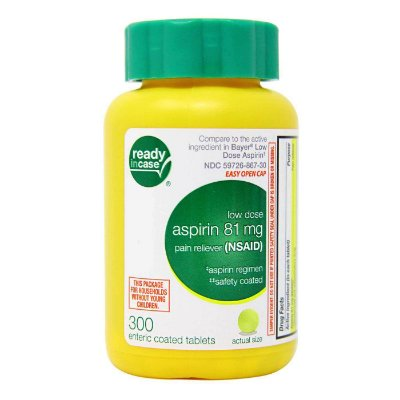 Aspirin - 300 comprimidos - Life Extension • (Envio Internacional 10-20 FRETE GRÁTIS)
