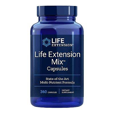Mix - Fórmula multi-nutriente de ponta - 360 cápsulas - Life Extension (Envio Internacional 10-20 FRETE GRÁTIS)