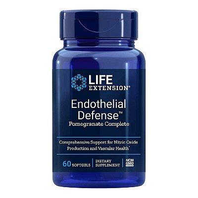 Endotelial Defense Pomegranate Complete - 60 Cápsulas em Ge - lLife Extension (Envio Internacional 10-20 FRETE GRÁTIS)