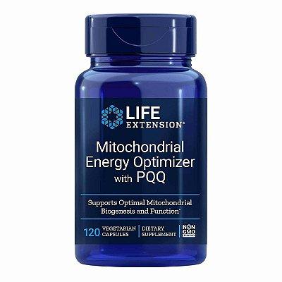 Otimizador de energia mitocondrial  com BioPQQ - 120 cápsulas vegetarianas  - Life Extension (Envio Internacional 10-20 FRETE GRÁTIS)