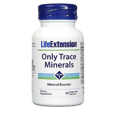 Only Trace Minerals 90 Cápsulas Vegetarianas - Life Extension (Envio Internacional 10-20 FRETE GRÁTIS)