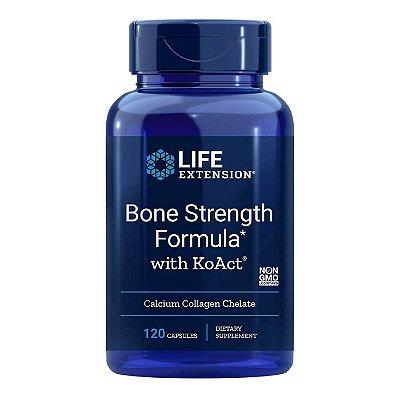 Fórmula de força óssea com KoAct 120 cápsulas - Life Extension (Envio Internacional 10-20 FRETE GRÁTIS)