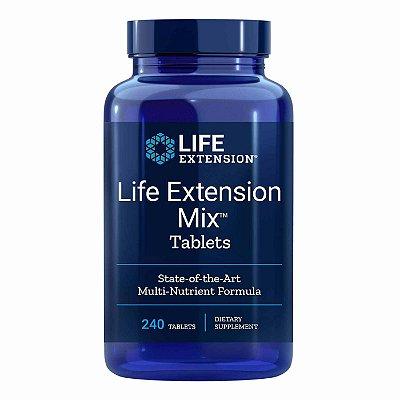 Mix - Fórmula multi-nutriente de ponta - 240 comprimidos - Life Extension (Envio Internacional 10-20 FRETE GRÁTIS)