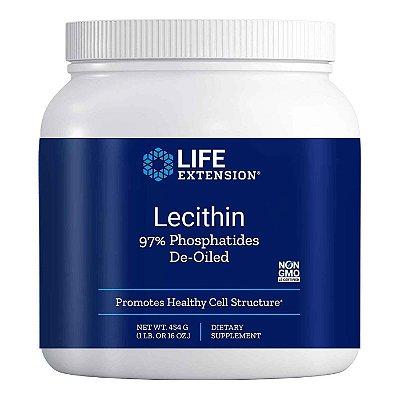 Lecitina - 454 g (16 oz) -Life Extension (Envio Internacional 10-20 FRETE GRÁTIS)