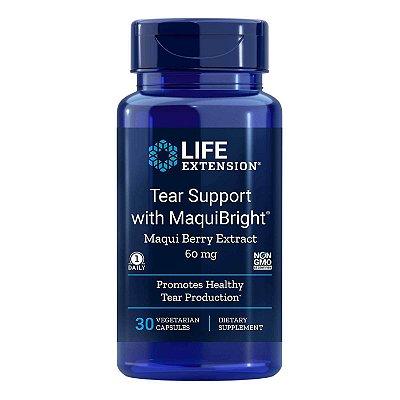 Tear Support com MaquiBright 60 mg - 30 cápsulas vegetais - Life Extension (Envio Internacional 10-20 FRETE GRÁTIS)